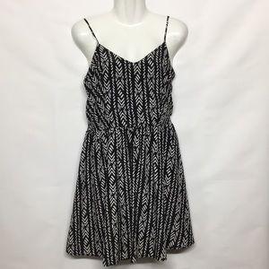 Wish Black And White Dress